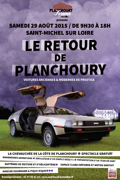 Affiche Planchoury Forever 2015